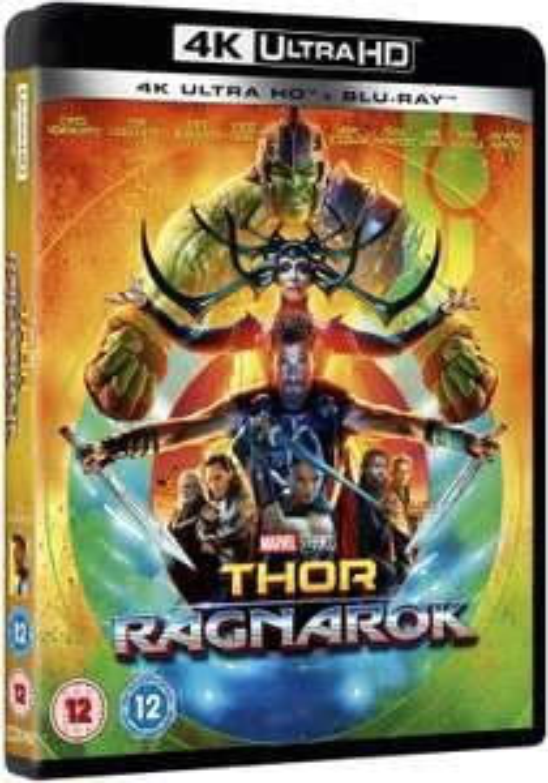Thor Ragnarok 4K (Including 2D Blu-Ray) [2017] [Region Free] £9.46 (£2.99 p&p non prime) @ Amazon
