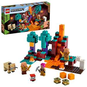 EGO 21168 Minecraft The Warped Forest Nether Playset £16.61 (+£4.49 non Prime) @ Amazon