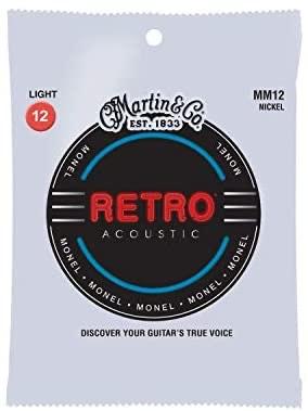 C.F. Martin MM-12 retro strings for acoustic guitar - £3.37 (+£4.49 Non Prime) @ Amazon