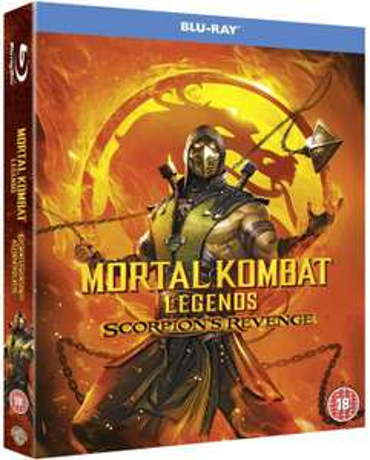 Mortal Kombat Legends: Scorpion's Revenge [Blu-ray] £2.02 (+£2.99 p&p non prime) @ Amazon