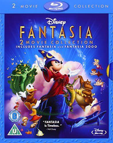 Fantasia / Fantasia 2000 [Blu-ray] [1941] Special Edition £5.10 @ Amazon (£2.99 p&p non prime)