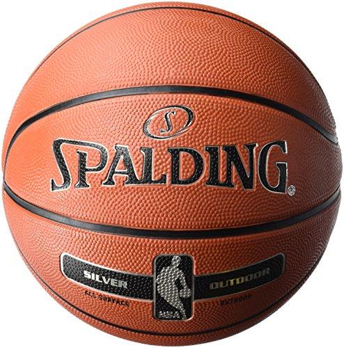 Spalding NBA Silver Outdoor Basketball - Size 5 - £9.55 (+£4.49 non prime) @ Amazon