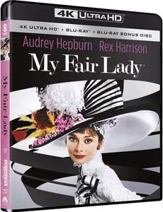 My Fair Lady 4K Ultra HD & Blu Ray £13.85 (£2.99 delivery non Prime) @ Amazon UK