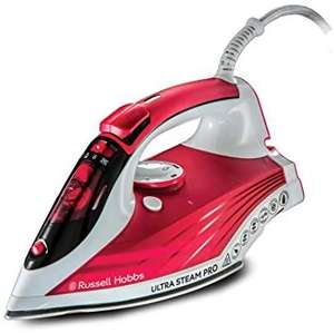 Russell Hobbs 23990 Ultra Steam Pro Iron, 0.320 Litre, 2600w - £10.11 (+£4.49 Non Prime) at Amazon
