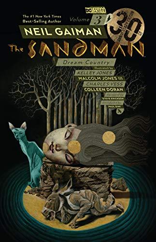 The Sandman Volume 3: Dream Country 30th Anniversary Edition – Illustrated Paperback Book £4.87 (+£2.99 nonPrime) Amazon