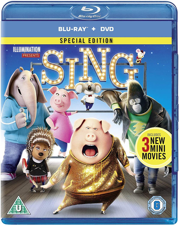 Sing [Blu-ray] [2017] £2.14 @ Amazon (£2.99 p&p non prime)