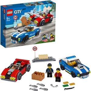 Lego city 60242 Police Highway Arrest with 2 Car Toys - £8.86 (+£4.49 Non Prime) @ Amazon