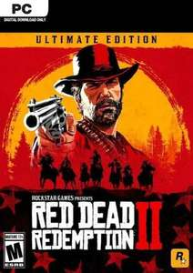 Red dead redemption ultimate edition PC £40.79 @ CDKeys