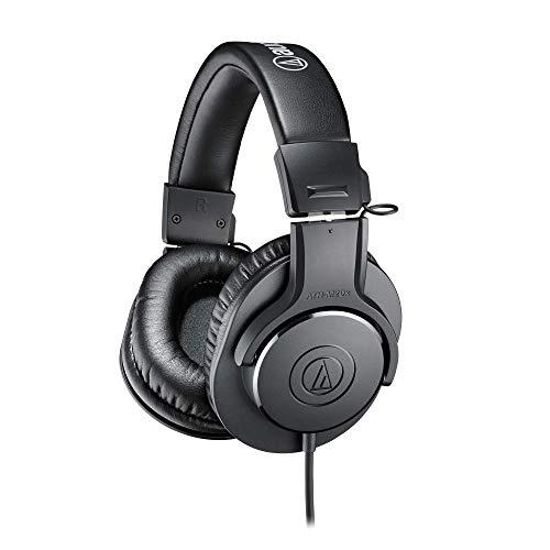 Audio-Technica ATH-M20X Professional Headphones - Black - £27.89 @ Amazon