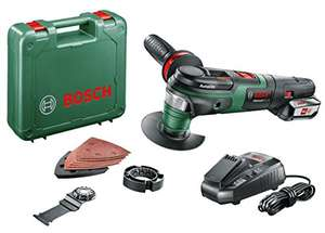 Bosch Home and Garden 0603104071 2.5 A Advanced Multitool 18v with 2.5aH battery £93.02 @ Amazon