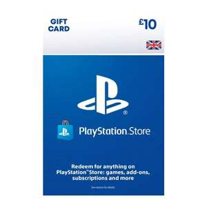 PSN Wallet top up £10 for £9.30 @ The Game Collection