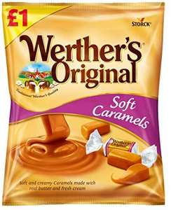 Werthers Original Soft Caramels - Pack of 12 x 110G £5.34 @ Amazon (£4.49 p&p non prime) £5.07 s&s