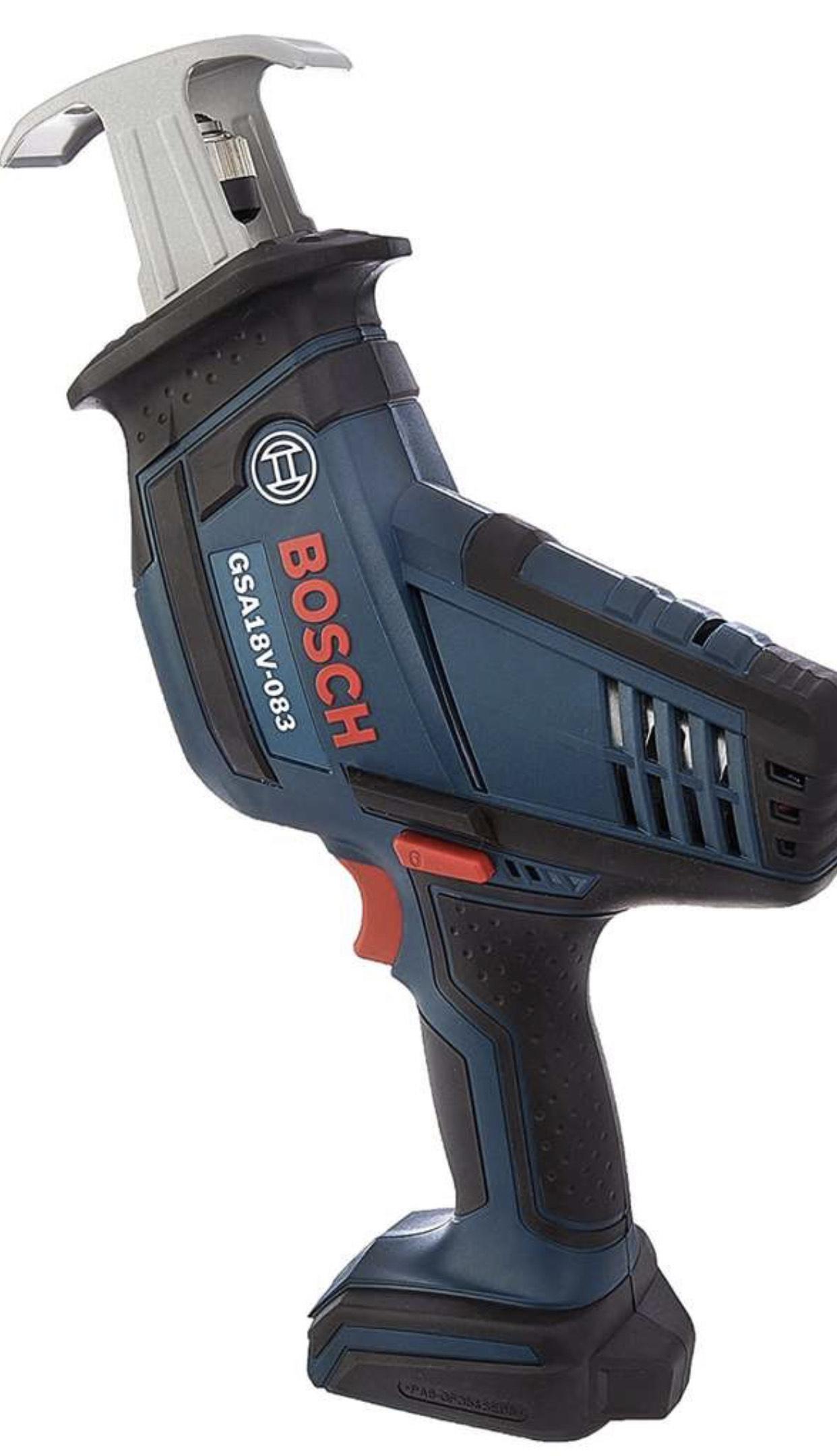 BOSCH GSA18V-083B 18 V Compact Reciprocating Saw Bare Tool - £86.92 @ Amazon