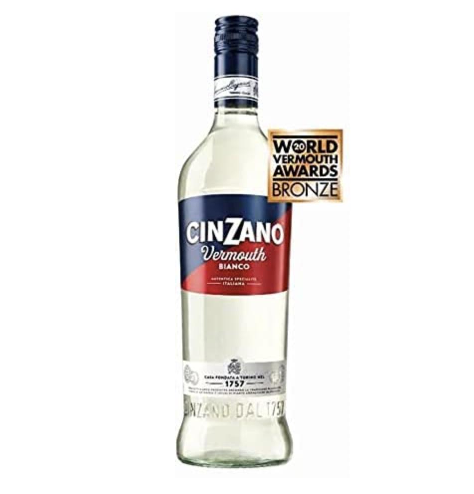 Cinzano Classico Bianco 75 cl, 15% ABV Vermouth - £2.98 Prime / +£4.49 non Prime @ Amazon