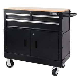 """Ultimate Storage 36"""" Mobile Workbench With Tool Storage £199 ( free click and collect) / £211.50 delivered @ Hombase"""