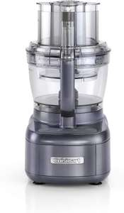 Cuisinart Style Collection Expert Prep Pro   2 Bowl Food Processor With 3L Capacity   Midnight Grey   FP1300U