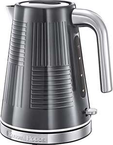 Russell Hobbs 25240 Geo Steel Cordless 3Kw Electric Kettle with Rapid Boil, Textured Stainless Steel, 1.7L - £22.48 delivered @ Amazon