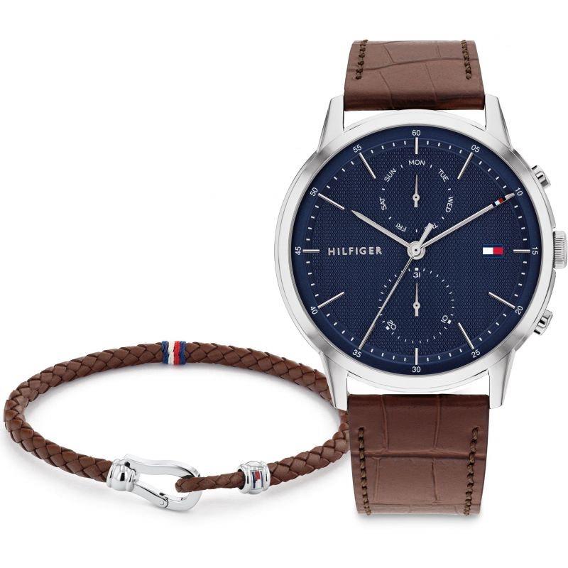Tommy Hilfiger Men's Watch & Bracelet Gift Set - £60 Delivered using code @ H Samuel