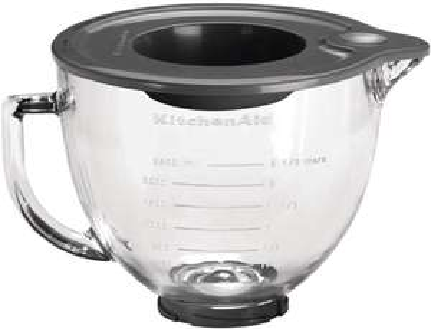 KitchenAid 5KSM5GB Stand Mixer Optional Accessory, Refreshed Glass, Trasparent - £54.99 @ Amazon