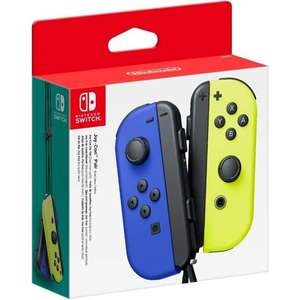 Nintendo Joy-Con Pair - Blue / Neon Yellow for £51 delivered (UK Mainland) @ AO