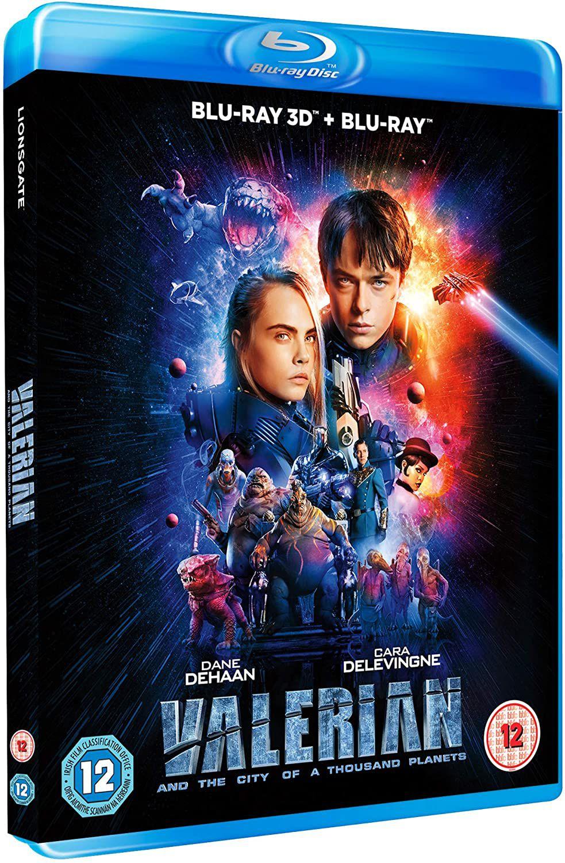 Valerian 3D & 2D BD [Blu-ray] £4.04 (+£2.99 p&p non prime) @ Amazon