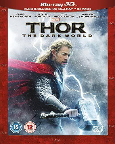 Thor: The Dark World [Blu-ray 3D] [2013] [Region Free] Standard - £4.90 Prime / +£2.99 non Prime @ Amazon
