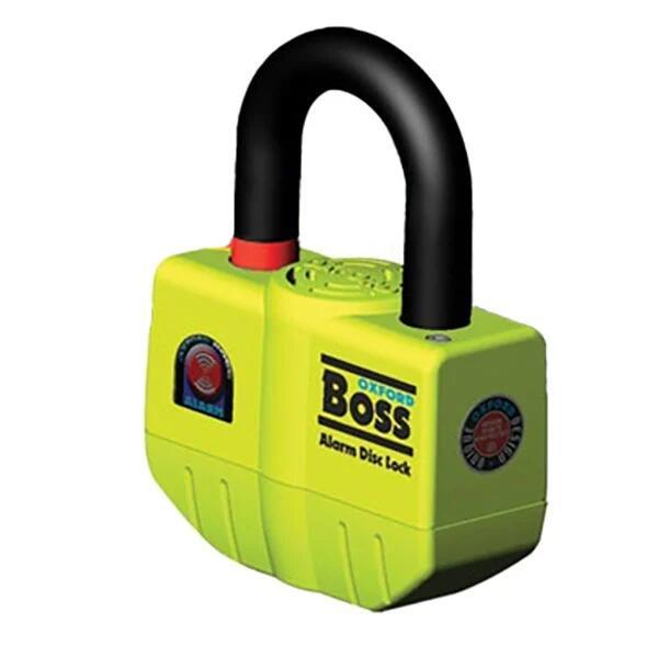 Oxford Boss Alarmed Disc Lock (16mm shackle) - £55.09 delivered @ SportsBikeShop