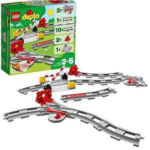 LEGO 10882 DUPLO Town Train Tracks Building Set with Red Action Brick - £7.39 / (+£4.49 Non Prime) delivered @ Amazon