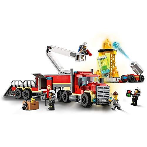 LEGO 60282 City Fire Command Unit Building Set, Fire Engine Toy - £25.61 @ Amazon