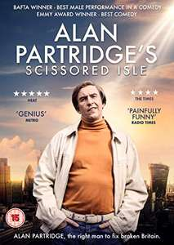 Alan Partridge's Scissored Isle DVD £2.16 (+£2.99 Non Prime) @ Amazon