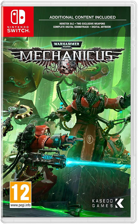 Warhammer 40, 000: Mechanicus (Nintendo Switch) - £12.49 Prime / +£2.99 non Prime @ Amazon
