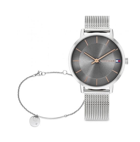 Tommy Hilfiger Ladies' Watch & Bracelet Gift Set Delivered using code £52 @ H Samuel