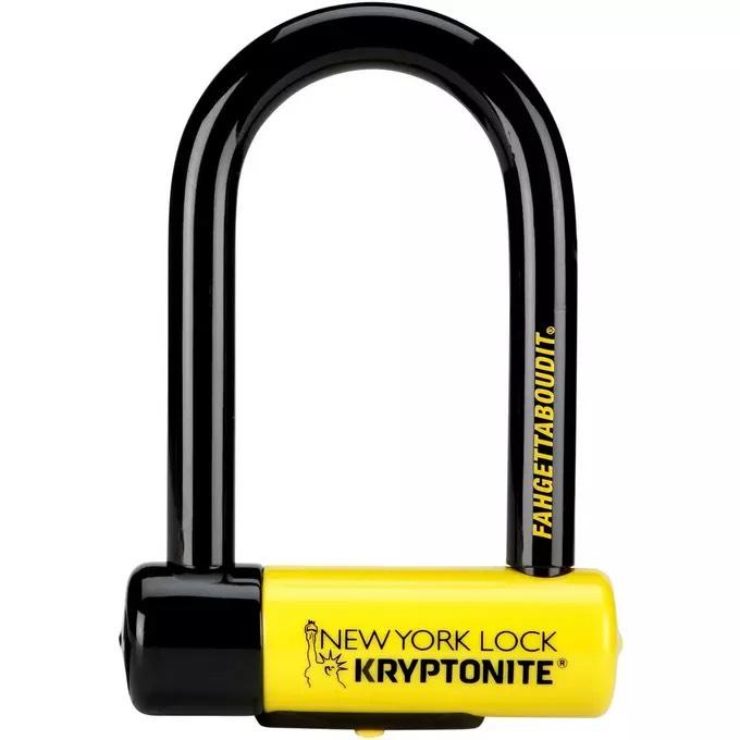 Kryptonite New York FAHGETTABOUDIT Lock - Yellow, Mini £50.27 @ Amazon