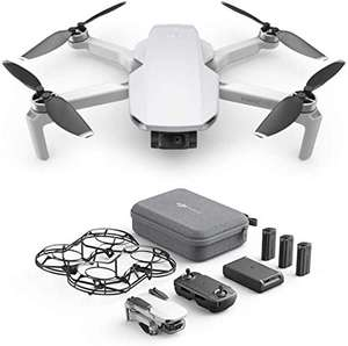 DJI Mavic Mini Combo Drone with 3 Batteries and Remote Controller - £344.36 @ Amazon