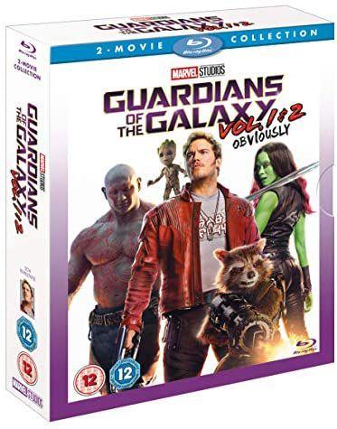 Guardians Of The Galaxy Vols 1 & 2 [Blu-ray] [2017] [Region Free] Standard £7.40 + £2.99 p&p non prime @ Amazon
