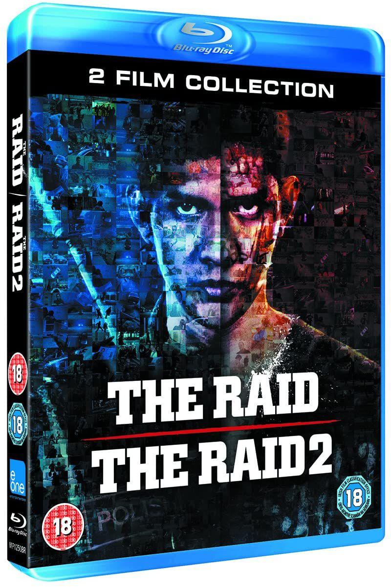 The Raid/The Raid 2 Collection [Blu-ray £6.94 (+£2.99 p&p non prime) @ Amazon