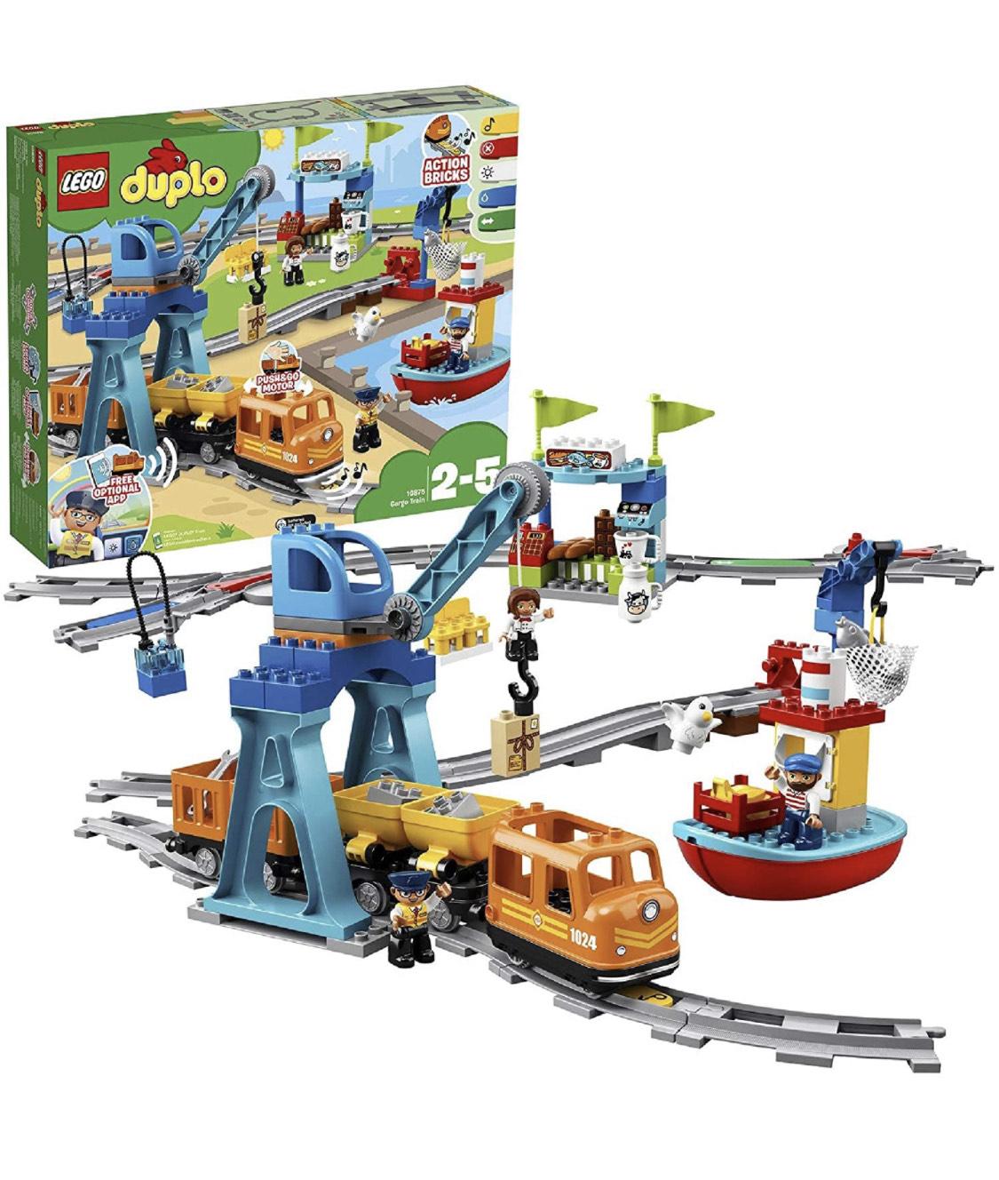 Lego 10875 Duplo Cargo Train £51.43 @ Amazon
