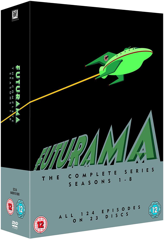 Futurama - Season 1-8 [DVD] [1999] Standard Box Set - £20.31 @ Amazon
