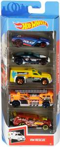 Hot Wheels 5 Car Gift Pack (Styles May Vary) - £5.19 Prime / +£4.49 non Prime @ Amazon