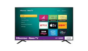 Hisense Roku 55 Inch R55B7120UK 4K Smart HDR LED Freeview TV £376 (Very Limited Availability) £376 @ Argos