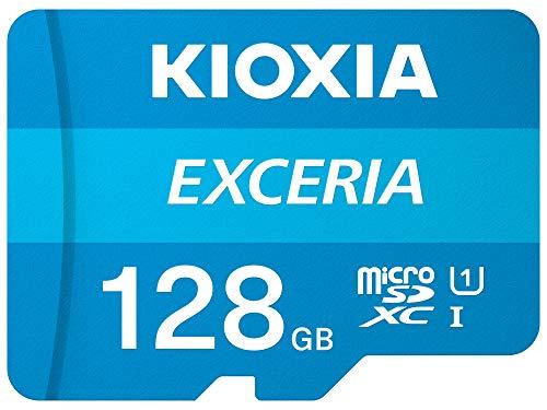 128GB - Kioxia Exceria U1 Class 10 microSD 100MB/s - £9 Prime/+£4.49 Non Prime @ Amazon