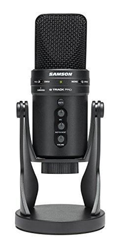 Samson G-Track Pro - Professional USB Microphone with Audio Interface - Black - £86.50 @ Amazon