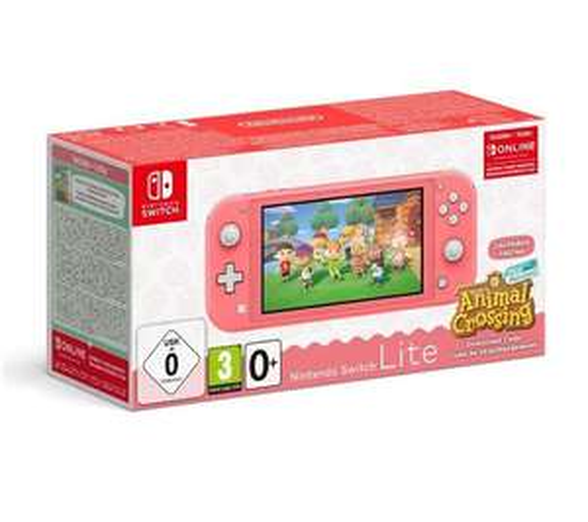 Nintendo Switch Lite Animal Crossing edition - Used Grade B £153 @ Stock Must Go