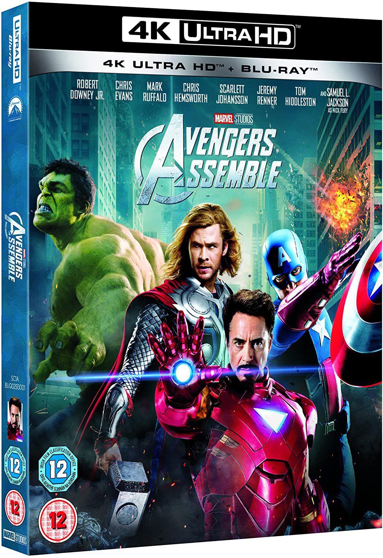 Avengers Assemble [4K UHD + Blu-ray] £9.56 (+£2.99 p&p non prime) @ Amazon