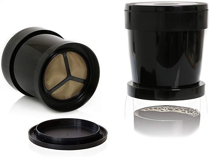 Finum Single Coffee Cup Filter, Plastic, Black £7.31 (+£4.49 non-prime) @ Amazon