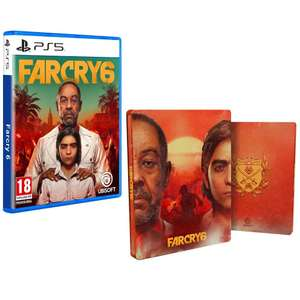 Far Cry 6 + Exclusive Steelbook + The Libertad Pack (PS5 / PS4 / Xbox) £48.85 Delivered (Preorder) @ Shopto