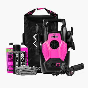 Muc-Off Bicycle/Motorcycle specific Pressure Washer Bundle - £102 (with code) @ Muc Off