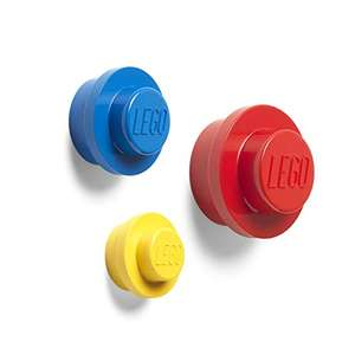 Room Copenhagen Lego Wall Hanger Set, Bright, Yellow, Blue, Red, Small, Medium and Large £8.50 (+£4.49 Non-Prime) @ Amazon
