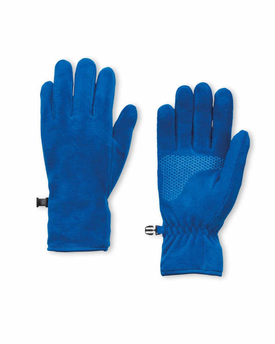 Crane Blue Fleece Gloves 99p (£2.95 delivery) @ Aldi