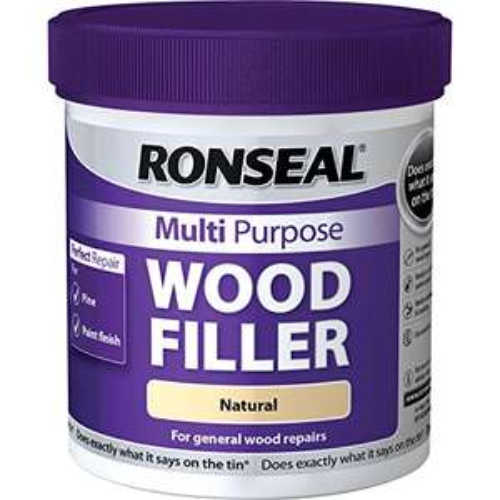 Ronseal MPWFN930 930 g Multi-Purpose Wood Filler Tub - Natural £5.26 (Prime) + £4.49 (non Prime) at Amazon